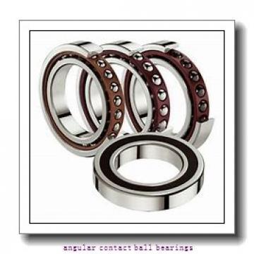 15 mm x 24 mm x 7 mm  ZEN 3802-2RS angular contact ball bearings