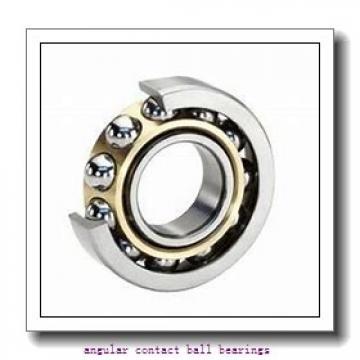 30 mm x 72 mm x 19 mm  FBJ QJ306 angular contact ball bearings