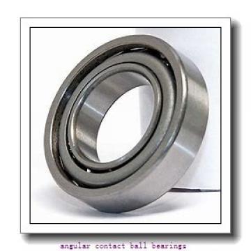 44 mm x 82,5 mm x 37 mm  SNR GB40246S07 angular contact ball bearings