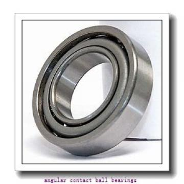 70 mm x 125 mm x 24 mm  SKF S7214 ACD/P4A angular contact ball bearings