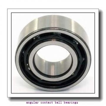30 mm x 62 mm x 23,8 mm  Fersa 3206B2RS/C3 angular contact ball bearings