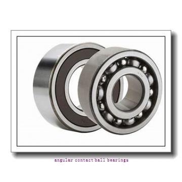 37 mm x 72 mm x 37 mm  Fersa F16030 angular contact ball bearings