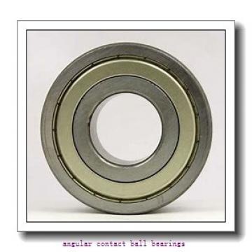 30 mm x 72 mm x 19 mm  NACHI 7306BDF angular contact ball bearings