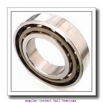 35 mm x 72 mm x 17 mm  ISB QJ 207 N2 M angular contact ball bearings