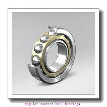 40 mm x 121,76 mm x 49,5 mm  PFI PHU2181 angular contact ball bearings