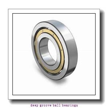 1,5 mm x 6 mm x 3 mm  ISO 601XZZ deep groove ball bearings