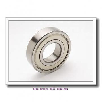 30 mm x 55 mm x 9 mm  NACHI 16006 deep groove ball bearings