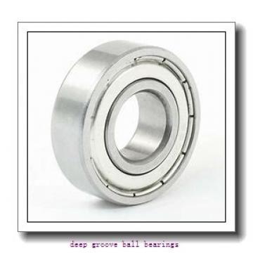 3,175 mm x 9,525 mm x 3,96 mm  Timken 33K3 deep groove ball bearings