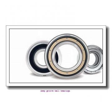 5 mm x 11 mm x 3 mm  ISO 618/5 deep groove ball bearings