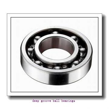 17 mm x 47 mm x 31 mm  KOYO RB203 deep groove ball bearings