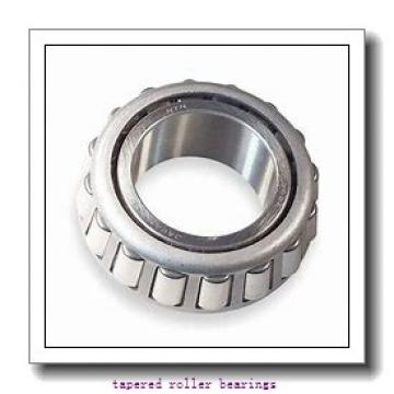 17 mm x 47 mm x 14 mm  FBJ 30303D tapered roller bearings