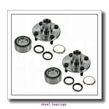 Toyana CX592 wheel bearings