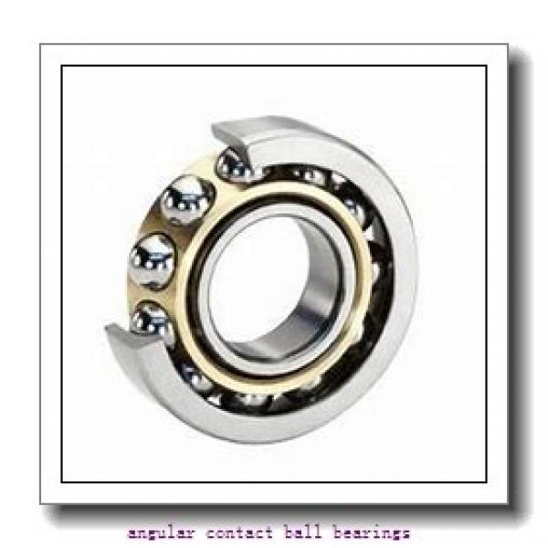 30 mm x 72 mm x 19 mm  FBJ QJ306 angular contact ball bearings #2 image