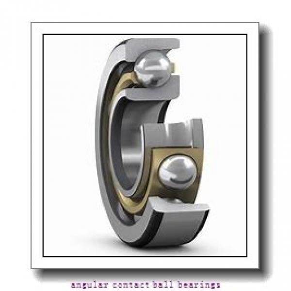 30 mm x 72 mm x 19 mm  FBJ QJ306 angular contact ball bearings #3 image