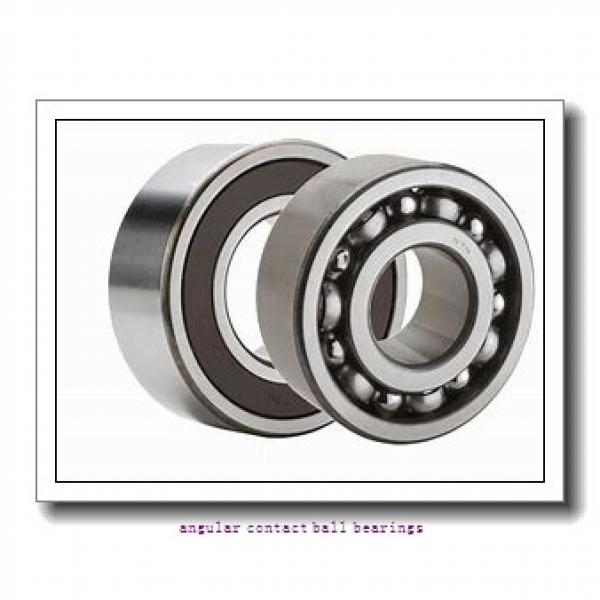 90 mm x 160 mm x 30 mm  NKE 7218-BECB-MP angular contact ball bearings #1 image