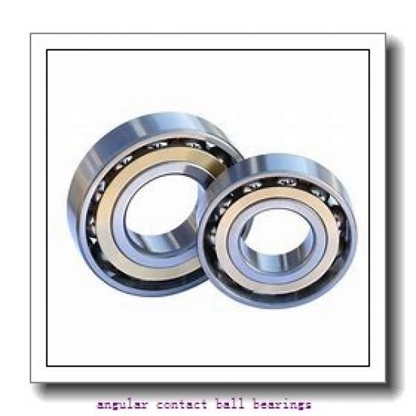 80 mm x 125 mm x 22 mm  NSK QJ1016 angular contact ball bearings #1 image
