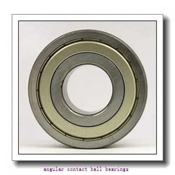 80 mm x 125 mm x 22 mm  NSK QJ1016 angular contact ball bearings #2 image