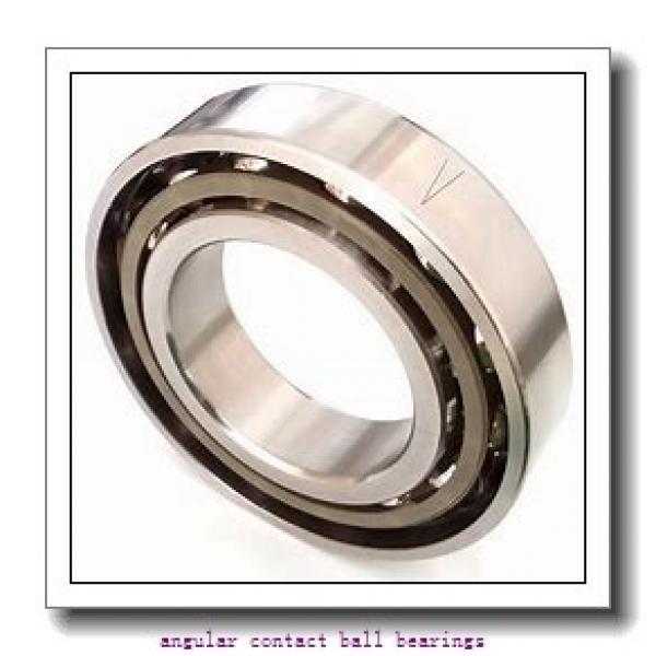 80 mm x 125 mm x 22 mm  NSK QJ1016 angular contact ball bearings #3 image