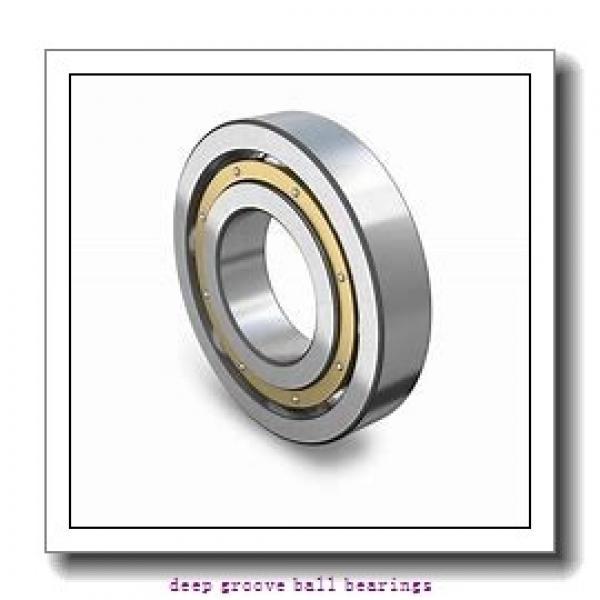 30 mm x 62 mm x 16 mm  Fersa 6206 deep groove ball bearings #1 image