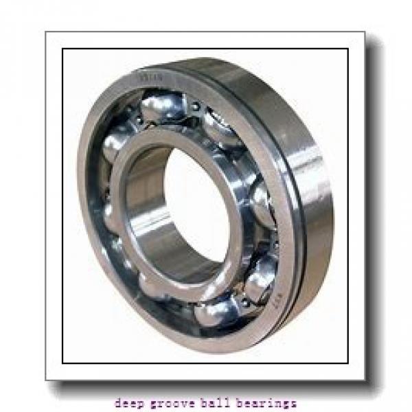 30 mm x 62 mm x 16 mm  Fersa 6206 deep groove ball bearings #2 image