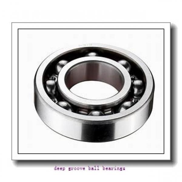 25 mm x 72 mm x 19 mm  Fersa 6306/25-2RS deep groove ball bearings #1 image